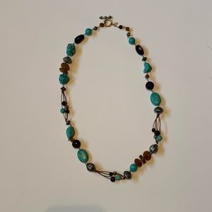 Chico's Turquoise Statement Necklace